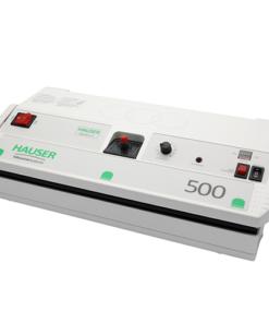 Titelbild_Vakuumiergerät_Hauser_Modell 500_Einfachnaht