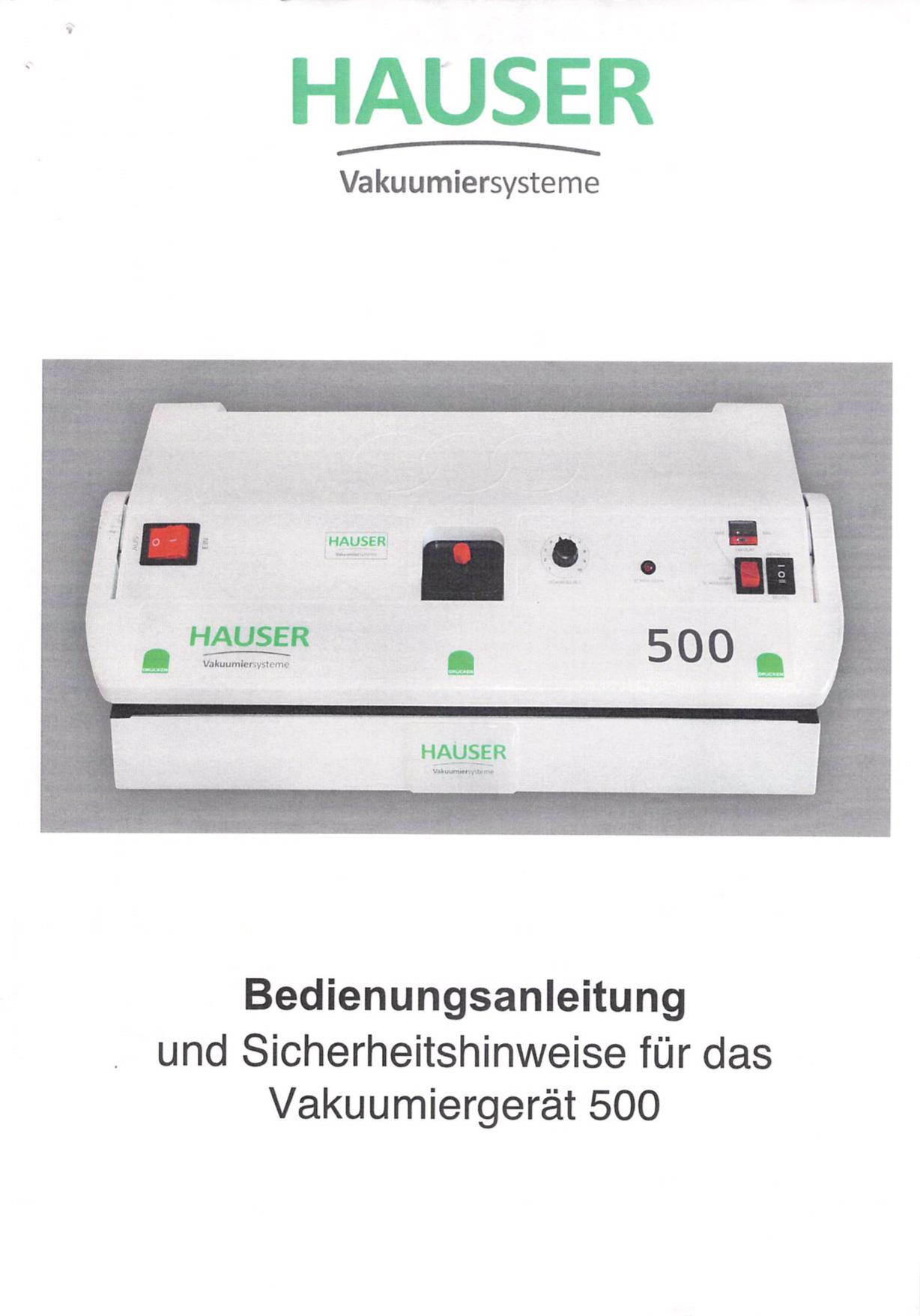 BedienungsanleitungModell_500